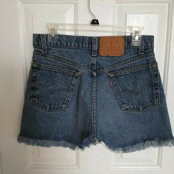 Levi's Pants - Vintage Levi's High Waisted Denim Shorts